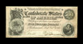 Confederate Notes:1864 Issues, T64 $500 1864. A light center fold and a bit of handling are seen on this bright CSA high denomination issue that carries a ...