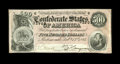 Confederate Notes:1864 Issues, T64 $500 1864. Two light vertical folds are all the wear this bright D-note has seen and very solid margins complete it. E...