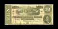 """Confederate Notes:1864 Issues, T68 $10 1864. The red rubber stamping indicates this was a UCV encampment souvenir note. It states, """"25th Confederate Reunio..."""
