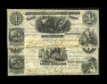 Obsoletes By State:Arkansas, Little Rock, AR- Cincinnati & Little Rock Slate Compy. $1; $3 Dec. 1, 1854 Rothert 409-1; 409-5. Both notes from this enterp... (Total: 2 notes)