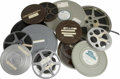 """Miscellaneous:Ephemera, Personal Flim Archive of Cliff Henderson. The archive containsseven reels of 16mm film. The reels are marked: """"Dr. Eckner H...(Total: 9 Item)"""