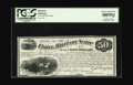 Obsoletes By State:Kansas, Topeka, KS- Union Military Scrip $50 Whitfield 425 June 1, 1867. PCGS has bestowed a grade of Choice About New 58PPQ due...