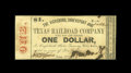 Obsoletes By State:Louisiana, Monroe, LA- Vicksburg, Shreveport and Texas Railroad Company $1 Jan. 13, 1862. The actual tracks for this railroad only ran ...