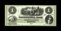 Obsoletes By State:Massachusetts, Boston, MA- Continental Bank $1 G2a. This is a lovely green-tintedABNCo remainder that has serial number embossing and was ...