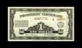 Canadian Currency: , Alberta Province Prosperity Certificate $1 Aug. 5, 1936. This Crisp Uncirculated $1 Prosperity Certificate has 36 1¢ sta...