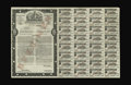 Canadian Currency: , Sixth Victory Loan $100 Specimen. This is a three percent bond that paid interest from May 1944 to June 1960. All thirty-two...
