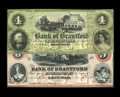 Canadian Currency: , Sault St. Marie, ON- Bank of Brantford $4; $5 Nov. 1, 1859 Ch.40-12-06; 08 R. Most of the notes for this Canadian bank were...(Total: 2 notes)