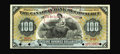 Canadian Currency: , Toronto, ON- Canadian Bank of Commerce $100 Jan. 2, 1888 Ch. 75-14-56S Specimen. An attractive ABNCo specimen note that has ...