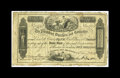 Canadian Currency: , Charlotte, NB- Charlotte County Bank 5 Shillings Aug. 26, 1856 Ch.100-10-02.. This rarity is one of the finest known notes ...
