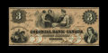 Canadian Currency: , Toronto, ON- Colonial Bank of Canada $3 Ch. 130-10-04-06. Thesingle signature variety, and a high grade piece at that. Un...