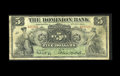 Canadian Currency: , Toronto, ON- Dominion Bank $5 July 3, 1905 Ch. 220-16-08. Notes onthis bank are still redeemable. Very Good.. From Th...