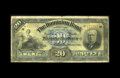 Canadian Currency: , Toronto, ON- Dominion Bank $20 Oct. 1, 1909 Ch. 220-20-060. Anintact scarce note that circulated far and wide. Very Good....