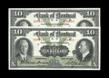 Canadian Currency: , Montreal, PQ- Bank of Montreal $10 Jan. 2, 1931 Ch. 505-58-04. TwoExamples.. These nicely preserved examples have serial nu...(Total: 2 notes)