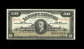 Canadian Currency: , Quebec, QC- La Banque Nationale $50 Nov. 2, 1922 Ch. 510-22-08SSpecimen. A couple of pinholes are found on this note that i...
