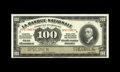 "Canadian Currency: , Quebec, QC- La Banque Nationale $100 Nov. 2, 1922 Ch. 510-22-10SSpecimen. ""SPECIMEN"" is roulette cancelled into the paper. ..."