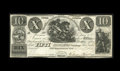 Canadian Currency: , Peterborough, UC- New Castle Distict Loan Company $10 Aug. 13, 1830Ch. 525-10-08. Even wear with a small repair at top cent...