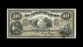 Canadian Currency: , Halifax, NS- Bank of Nova Scotia $10 Jan. 2, 1903 Ch. 550-18-08.There is an approximate half inch failed repair on the back...