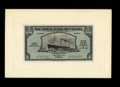 Canadian Currency: , Roseau, Dominica- Royal Bank of Canada $5 Jan. 3, 1938 Ch.630-44-02 Face and Back Proofs. Unlisted in Charlton as a proof.... (Total: 2 notes)