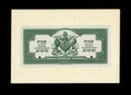 Canadian Currency: , Castries, St. Lucia- Royal Bank of Canada $5 Jan. 2, 1920 Ch.630-62-02 Face and Back Proofs. The mounted face proof grades ...(Total: 2 notes)