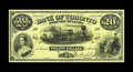 Canadian Currency: , Toronto, ON- Bank of Toronto $20 July 1, 1887 Ch. 715-22-46Pa Face and Back Proofs. The Choice Crisp Uncirculated face p... (Total: 2 notes)