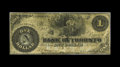 Canadian Currency: , Toronto, ON- Bank of Toronto $1 1862 Ch. 715-26-02. This note wasaltered from a Colonial Bank of Canada note. Fine.. ...