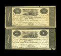"Canadian Currency: , Kingston, ON- Bank of Upper Canada $1 Jan. 1, 1820 Ch. 765-12-02Two Examples. Both notes have the ""Payable at the Bank of C...(Total: 2 notes)"