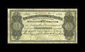 Canadian Currency: , St. John's NF- Newfoundland Government Cash Note $1 1906 Ch. NF-5f.An evenly circulated example of this uniface issue. Fi...