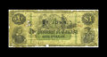 Canadian Currency: , PC-2c $1 1866. This is the very rare St. John overprint, which catalogues for $3000 in Good in the new Charlton reference. G...
