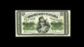 "Canadian Currency: , DC-1a 25¢ 1870. A rare plate letter ""A"" note with this example being bright and exhibiting a vertical and a lateral fold. ..."