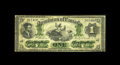 Canadian Currency: , DC-2a $1 1870. A second example of the Montreal small date variety.This piece grades Fine, but is extensively repaired ...