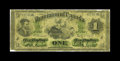 Canadian Currency: , DC-2a-i $1 1870. The considerably scarcer large date variety, withthis piece payable at Montreal. Well circulated but intac...