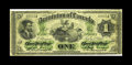 Canadian Currency: , DC-2d $1 1870. An attractive circulated example which is payable atHalifax. About Fine, with some pinholes and a small ...