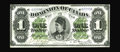 Canadian Currency: , DC-8a $1 1878. As Charlton notes, the plausible reason for issuing this series was to combat counterfeiting of the 1870 Toro...