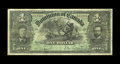 Canadian Currency: , DC-12 $1 1897. The first year of this design, with this example bearing the green color used on both the $1 and $2 denominat...