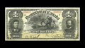 Canadian Currency: , DC-13a $1 1898. A second attractive example of the scarcest of thethree 1898 $1 issues. Fine-Very Fine.. From The Hal...