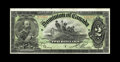 Canadian Currency: , DC-14c $2 1897. It is the unusual collection indeed which includes two truly high grade 1897 twos, but the Halton Lake holdi...