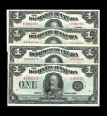 Canadian Currency: , DC-25a $1 1923. Three Examples. G-VG; Fine; Fine.. From The Halton Lake Collection... (Total: 3 notes)