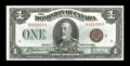 Canadian Currency: , DC-25i $1 1923.. A delightful note that has been well preserved. Choice Crisp Uncirculated. .. From The Halton Lake Co...