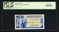 Military Payment Certificates:Series 692, Series 692 25¢ PCGS Gem New 65PPQ.. ...