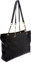 Luxury Accessories:Bags, Chanel Black Caviar Leather Jumbo Tote Bag with Gold Hardware. ...