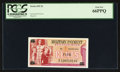 Military Payment Certificates:Series 692, Series 692 5¢ PCGS Gem New 66PPQ.. ...