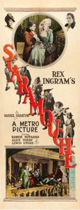 "Movie Posters:Swashbuckler, Scaramouche (Paramount, 1923). Insert (14"" X 36"").. ..."
