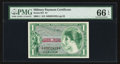 Military Payment Certificates:Series 651, Series 651 $1 PMG Gem Uncirculated 66 EPQ.. ...
