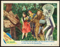 "Movie Posters:Fantasy, The Wizard of Oz (MGM, R-1949). Lobby Card (11"" X 14"") andAutograph.. ... (Total: 2 Items)"