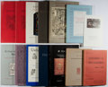 Books:Books about Books, [Books About Books]. Group of 14 Bookseller Catalogs from H. P.Kraus. Very good or better in publisher's wrappers.... (Total:14 Items)
