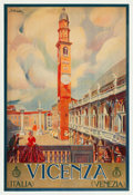 "Movie Posters:Miscellaneous, Vicenza, Italy Travel Poster by Tullio Silvestri (ENIT, Late1920s-Early 1930s). Poster (26.5"" X 39.25"").. ..."