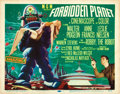 """Movie Posters:Science Fiction, Forbidden Planet (MGM, 1956). Title Lobby Card (11"""" X 14"""").. ..."""