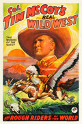 "Movie Posters:Western, Tim McCoy's Real Wild West Show (1938). Stock One Sheet (27.25"" X 40.75"") Style D.. ..."