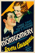 "Movie Posters:Drama, Lovers Courageous (MGM, 1932). One Sheet (27"" X 41"") Style C.. ..."
