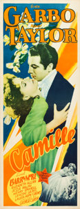 "Movie Posters:Drama, Camille (MGM, 1937). Insert (14"" X 36"").. ..."